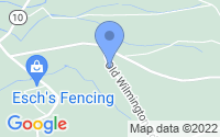 Map of Coatesville PA