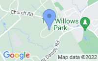 Map of Newtown Square PA