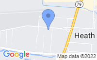 Map of Heath OH