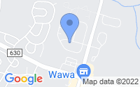 Map of Westampton NJ