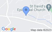 Map of Devon PA