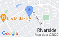 Map of Riverside NJ