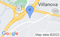 Map of Villanova PA