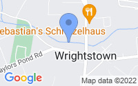 Map of Wrightstown NJ