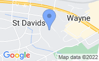 Map of Saint Davids PA