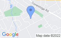 Map of Wayne PA