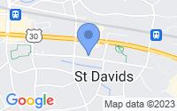 Map of Saint Davids PA