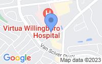 Map of Willingboro NJ