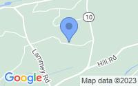 Map of Honey Brook PA