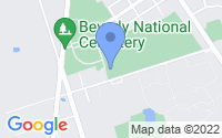 Map of Beverly NJ
