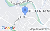 Map of Cheltenham Township PA