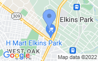 Map of Melrose Park PA