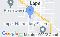 Map of Lapel IN