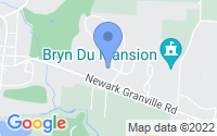 Map of Granville OH