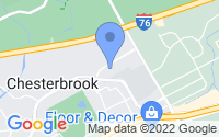 Map of Chesterbrook PA