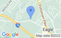 Map of Downingtown PA