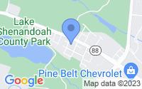 Map of Lakewood NJ