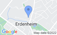 Map of Erdenheim PA
