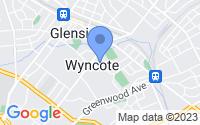 Map of Wyncote PA