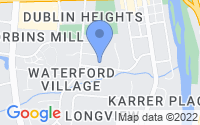 Map of Dublin OH