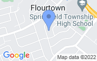 Map of Flourtown PA