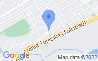 Map of Bridgeport PA