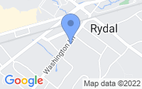 Map of Rydal PA