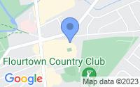 Map of Flourtown PA