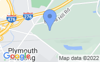 Map of Plymouth Meeting PA