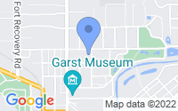 Map of Greenville OH