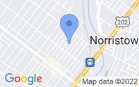 Map of Norristown PA