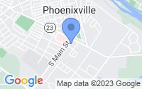 Map of Phoenixville PA