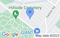 Map of Abington PA