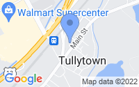 Map of Tullytown PA