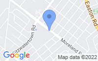 Map of Willow Grove PA