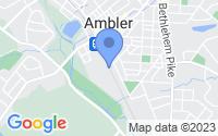 Map of Ambler PA