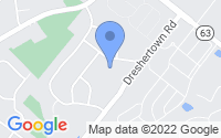 Map of Dresher PA