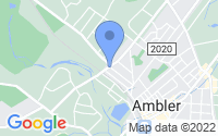 Map of Ambler PA