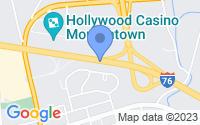 Map of Morgantown PA