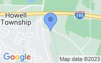 Map of Howell NJ