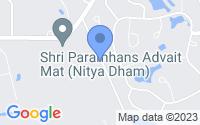 Map of Allentown NJ