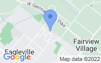 Map of Eagleville PA