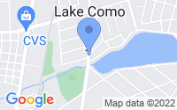 Map of Lake Como NJ