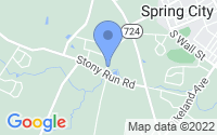 Map of Spring City PA