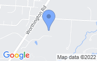 Map of Westerville OH