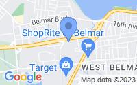 Map of Wall Township NJ