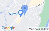 Map of Collegeville PA