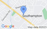 Map of Southampton PA