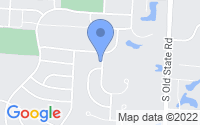 Map of Lewis Center OH