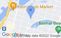 Map of Belmar NJ
